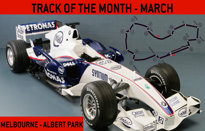 Track of the Month - March 2020